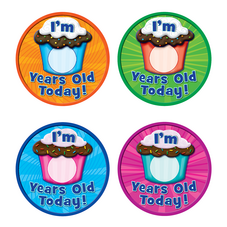 I'm __ Years Old Today Wear'Em Badges