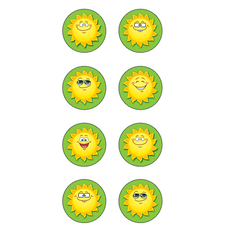 Happy Suns Mini Stickers
