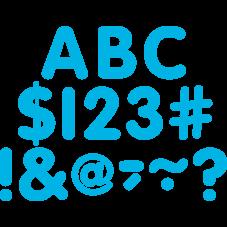 """Aqua Classic 2"""" Letters Uppercase Pack"""
