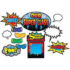 Superhero Bulletin Board Display Set