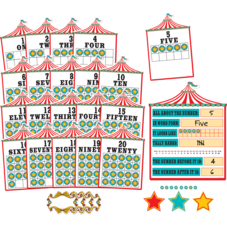 Carnival Numbers 0-20 Bulletin Board Display Set