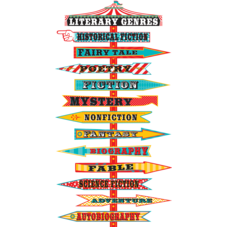Carnival Literary Genres Mini Bulletin Board