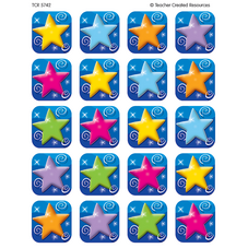 Colorful Stars Stickers