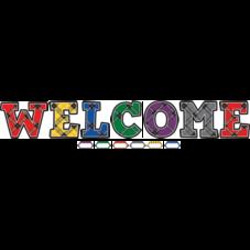 Plaid Welcome Bulletin Board Display Set