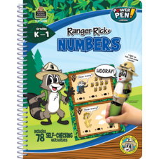 Ranger Rick Power Pen Learning Book: Numbers