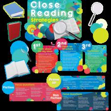 Close Reading Strategies Bulletin Board Display Set