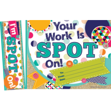 Your Work Is Spot On! Bookmark Award
