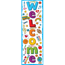 School Doodles Welcome Banner
