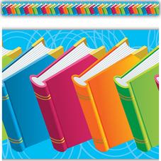 Books Straight Border Trim