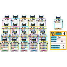 Pete the Cat Numbers 0-20 Bulletin Board
