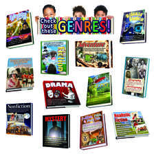Literary Genres Bulletin Board Display Set