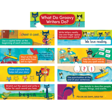 Pete the Cat Writing Strategies Mini Bulletin Board