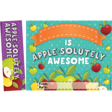 Apple-solutely Awesome Bookmark Awards