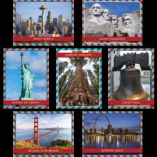 US Landmarks Accents