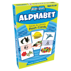 Alphabet Slide & Learn Flash Cards