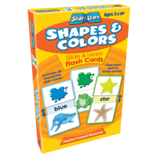 Shapes & Colors Slide & Learn Flash Cards