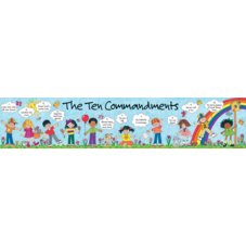 Children's Ten Commandments Banner