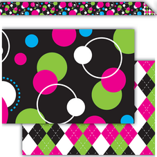 Circle Frenzy Double-Sided Border