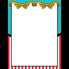 Carnival Blank Chart