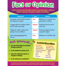 Fact or Opinion Chart