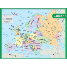 Europe Map Chart