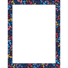 Anchors Blank Chart