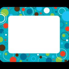 Circles and Dots Name Tags/Labels