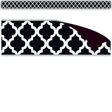 Black Moroccan Magnetic Strips