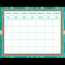 Shabby Chic Calendar Grid