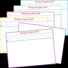 Smart Start Magnetic Dry Erase Board (set of 5)