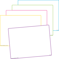 Blank Dry Erase Boards (set of 10)