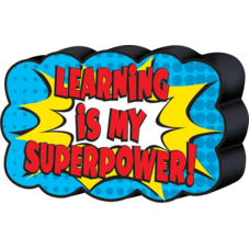 Superhero Magnetic Whiteboard Eraser