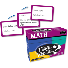 I Have, Who Has Math Game Grade 3-4
