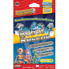 Robot Rescue Computer Game CD Grade 2-3