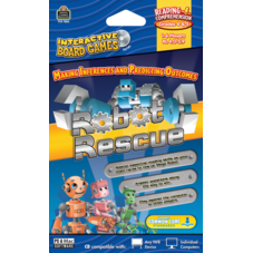 Robot Rescue Computer Game CD Grade 4-5