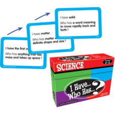 I Have, Who Has Science Game Grade 2-3