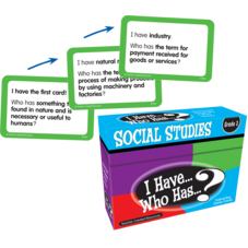I Have, Who Has Social Studies Game Grade 3