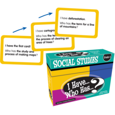 I Have, Who Has Social Studies Game Grade 4