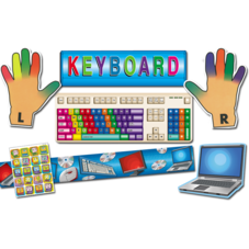 Computer Keyboards Set