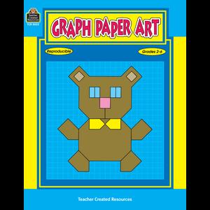 TCR0052 Graph Paper Art Image