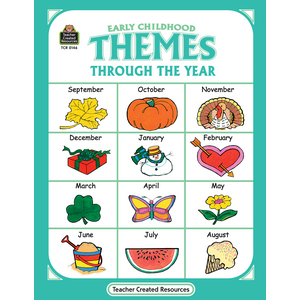 TCR0146 Early Childhood Themes Through the Year Image
