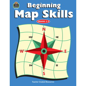 TCR0167 Beginning Map Skills Image