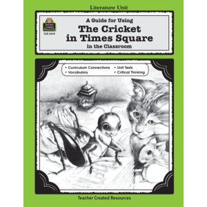 TCR0419 A Guide for Using The Cricket in Times Square in the Classroom Image