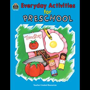 TCR0484 Everyday Activities for Preschool Image