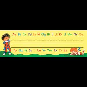 TCR1112 Alphabet Name Plates (flat) Image