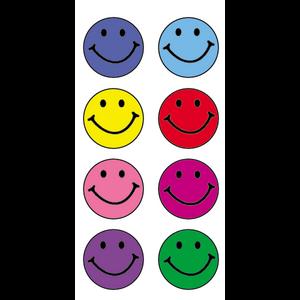 TCR1236 Happy Faces Mini Stickers Image