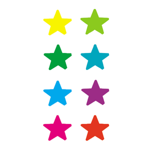 TCR1239 Stars Mini Stickers Image