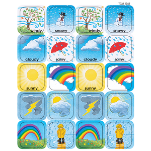 TCR1261 Weather Stickers Image