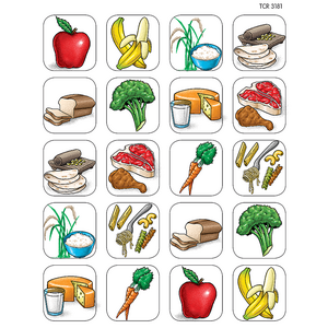 TCR1381 Food Stickers Image