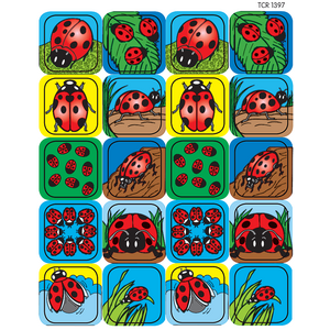 TCR1397 Ladybugs Stickers Image